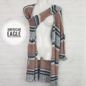 American Eagles oversized loose knit sweater